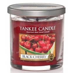 Yankee Candle 1 Docht Regular Tumbler Glaskerze klein 198g Black Cherry
