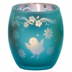 Chicks Teelichthalter blau