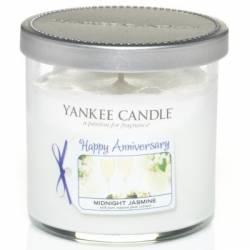 Yankee Candle 1 Docht Tumbler Glaskerze 104g Celebrations Happy Anniversary