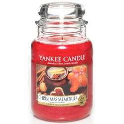 Yankee Candle Jar Glaskerze groß 623g Christmas Memories