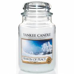 Yankee Candle Jar Glaskerze groß 623g Season of Peace