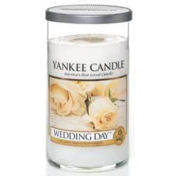 Yankee Candle Pillar Glaskerze mittel 340g Wedding Day