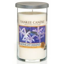 Yankee Candle Pillar Glaskerze mittel 340g Midnight Jasmine