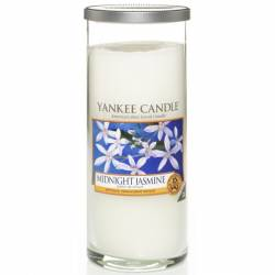 Yankee Candle Pillar Glaskerze gross 538g Midnight Jasmine