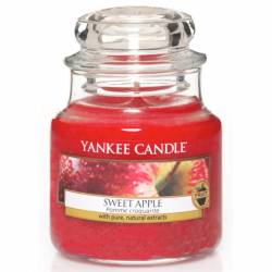 Yankee Candle Jar Glaskerze klein 104g Sweet Apple