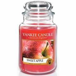 Yankee Candle Jar Glaskerze groß 623g Sweet Apple