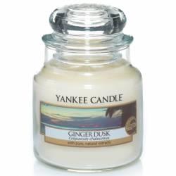 Yankee Candle Jar Glaskerze klein 104g Ginger Dusk