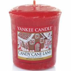 Yankee Candle Sampler Votivkerze Candy Cane Lane