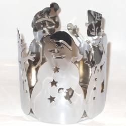 Yankee Candle Snowmen Jar Sleeve gross