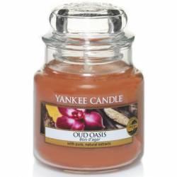 Yankee Candle Jar Glaskerze klein 104g Oud Oasis