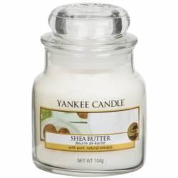 Yankee Candle Jar Glaskerze klein 104g Shea Butter