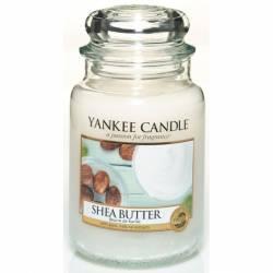 Yankee Candle Jar Glaskerze groß 623g Shea Butter