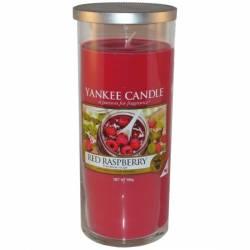 Yankee Candle Pillar Glaskerze gross 566g Red Raspberry