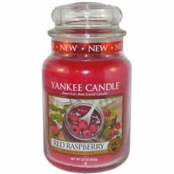 Yankee Candle Jar Glaskerze groß 623g Red Raspberry