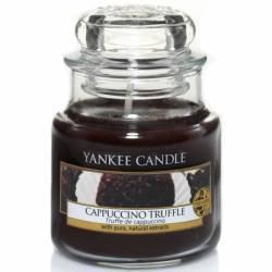 Yankee Candle Jar Glaskerze klein 104g Cappuccino Truffle