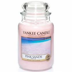 Yankee Candle Jar Glaskerze groß 623g Pink Sands