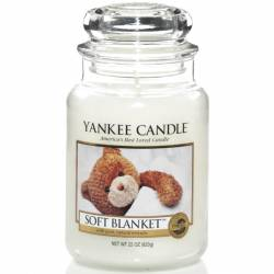 Yankee Candle Jar Glaskerze groß 623g Soft Blanket