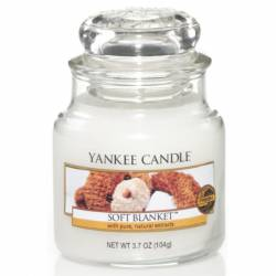 Yankee Candle Jar Glaskerze klein 104g Soft Blanket