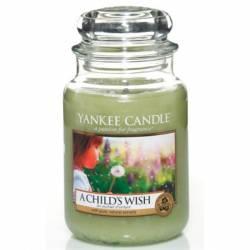 Yankee Candle Jar Glaskerze groß 623g A Childs Wish