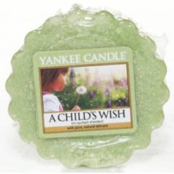 Yankee Candle Tart / Melt A Childs Wish