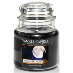 Yankee Candle Jar Glaskerze mittel 411g Midsummers Night