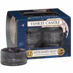 Yankee Candle Teelichter 12er Pack Midsummers Night