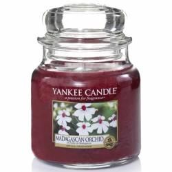 Yankee Candle Jar Glaskerze mittel 411g Madagascan Orchid