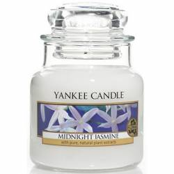 Yankee Candle Jar Glaskerze klein 104g Midnight Jasmine