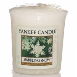 Yankee Candle Sampler Votivkerze Sparkling Snow