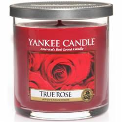 Yankee Candle 1 Docht Regular Tumbler Glaskerze klein 198g True Rose