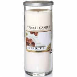 Yankee Candle Pillar Glaskerze gross 566g Shea Butter