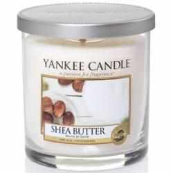 Yankee Candle 1 Docht Regular Tumbler Glaskerze klein 198g Shea Butter
