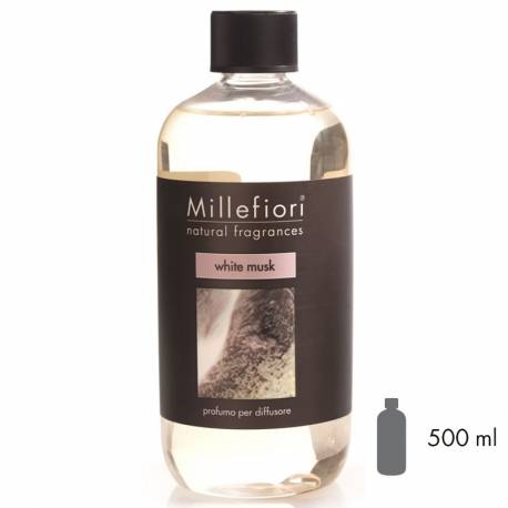 White Musk Millefiori Natural Refill 500 ml