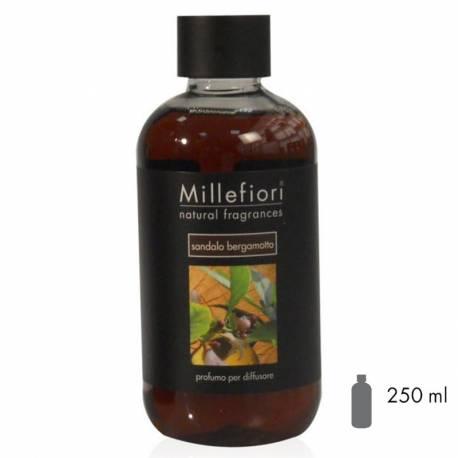 Sandalo Bergamotto Millefiori Natural Refill 250 ml