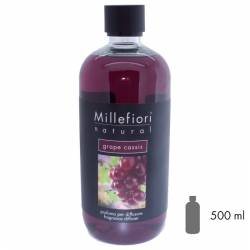 Grape Cassis Millefiori Natural Refill 500 ml
