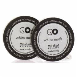 White Musk Refill GO – Autoduft Millefiori 2er Pack