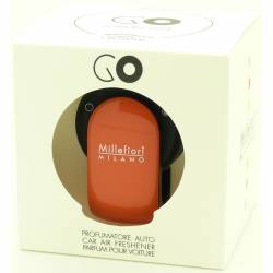Sandalo Bergamotto – Arancione Halter GO – Autoduft Millefiori