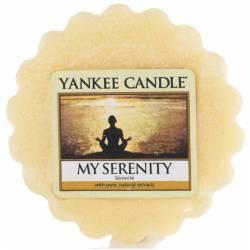 Yankee Candle Tart / Melt My Serenity