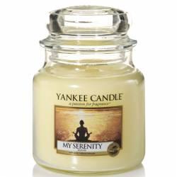 Yankee Candle Jar Glaskerze mittel 411g My Serenity