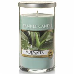 Yankee Candle Pillar Glaskerze mittel 340g Aloe Water