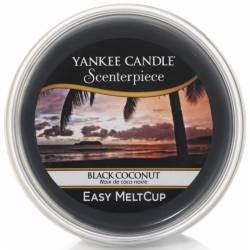 Yankee Candle Easy MeltCup Black Coconut
