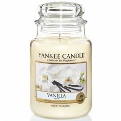 Yankee Candle Jar Glaskerze groß 623g Vanilla