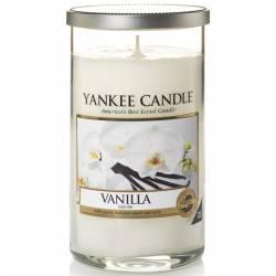 Yankee Candle Pillar Glaskerze mittel 340g Vanilla