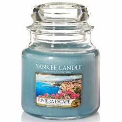 Yankee Candle Jar Glaskerze mittel 411g Riviera Escape
