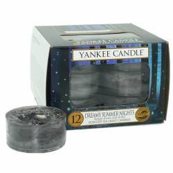 Yankee Candle Teelichter 12er Pack Dreamy Summer Nights