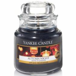 Yankee Candle Jar Glaskerze klein 104g Autumn Night