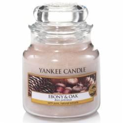 Yankee Candle Jar Glaskerze klein 104g Ebony & Oak