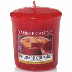 Yankee Candle Sampler Votivkerze Rhubarb Crumble