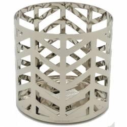 Yankee Candle Straight Line Chrome Sphere/Pillar-Halter