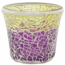 Yankee Candle Purple & Gold Votivhalter für Sampler